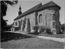 Kazimierz Biskupi [Kościół parafialny pw. św. Marcina – elewacja płd.-wsch.]