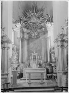 Kielce [Kościół Seminaryjny pw. Trójcy Świętej – ołtarz główny]