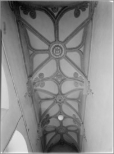 Kielce [Pałac Biskupów Krakowskich – fragment sklepienia kaplicy]