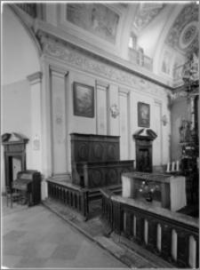 Klimontów [Kościół parafialny pw. św. Józefa – widok płn. ściany prezbiterium]