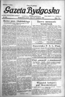 Gazeta Bydgoska 1927.09.23 R.6 nr 218