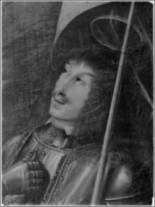 Koprzywnica [Kościół parafialny pw. św. Floriana – obraz autorstwa Bartłomieja Strobla w ołtarzu głównym]