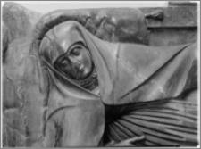 Książ Wielki – kościół parafialny pw. św. Wojciecha [fragment nagrobka Katarzyny Tęczyńskiej]
