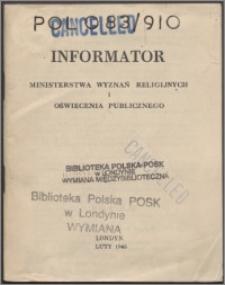 Informator Ministerstwa Wyznań Religijnych i Oświecenia Publicznego