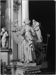 Kalisz. Sanktuarium Św. Józefa. Ołtarz boczny - anioł