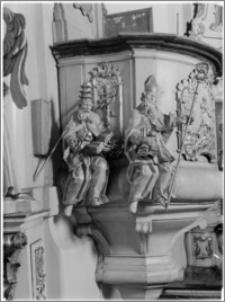 Kalisz. Sanktuarium Św. Józefa. Ambona - fragment