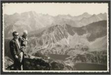 Stanisław Kiałka w górach