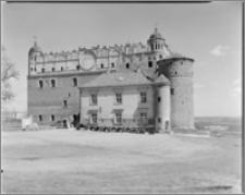 Golub [Zamek – elewacja zachodnia]