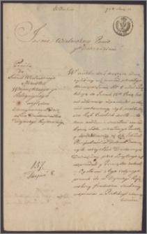Kapituła Katedralna Kujawska do ministra spraw wewnętrznych i wyznań religijnych