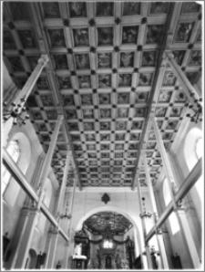 Lubawa. Kościół Kościół św. Jana Chrzciciela i św. Michała Archanioła (Bernardynów). Wnętrze, strop