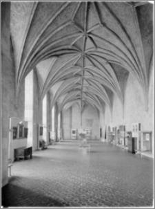 Lidzbark Warmiński. Zamek biskupów warmińskich. Wnętrze, refektarz