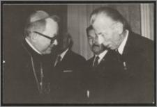 Stanisław Kiałka i kardynał Henryk Gulbinowicz