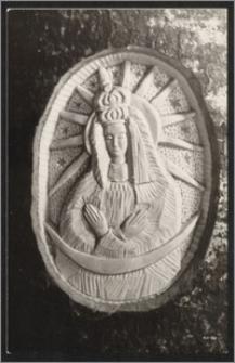 Matka Boska Ostrobramska wyrzeźbiona dla żony Wandy