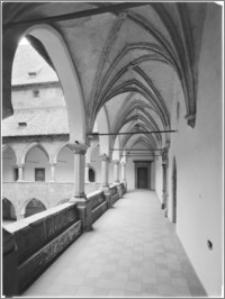 Lidzbark Warmiński. Zamek biskupów warmińskich. Krużganki
