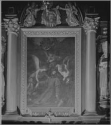 Leżajsk. Klasztor Bernardynów. Kościół pw. Zwiastowania Najświętszej Maryi Panny. Obraz przedstawiający Św. Franciszka z Asyżu