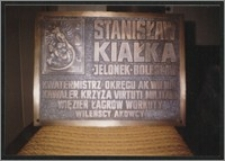 Odsłonięcie tablicy pamiątkowej poświęconej Stanisławowi Kiałce w kościele garnizonowym św. Elżbiety we Wrocławiu