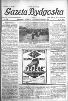Gazeta Bydgoska 1927.10.23 R.6 nr 244