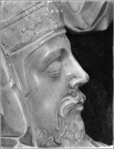 Poznań. Bazylika Archikatedralna św. Piotra i św. Pawła. Nagrobek biskupa Adama Nowodworskiego - fragment