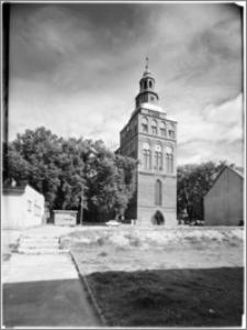 Gryfino. Kościół pw. Narodzenia Najświętszej Maryi Panny. Elewacja zachodnia