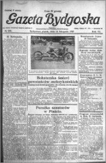 Gazeta Bydgoska 1927.11.11 R.6 nr 259