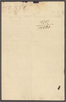 Leszczyński Łukasz podoficer Pułku 1-go Ułanów. Stan służby Łukasza Leszczyńskiego w l. 1810-1815