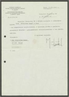 Dokumenty dotyczące zaświadczenia o represjonowaniu i przetrzymywaniu w Obozach Ciężkich Robót na Łukiszkach, w Prowianiszkach i Matujzach w latach od 25 czerwca 1942 do 15 czerwca 1943 r.