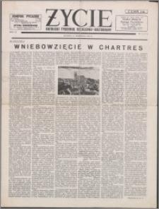 Życie : katolicki tygodnik religijno-kulturalny 1952, R. 6 nr 38 (274)