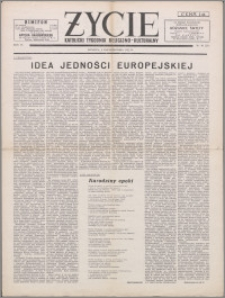 Życie : katolicki tygodnik religijno-kulturalny 1952, R. 6 nr 40 (276)
