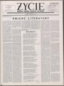 Życie : katolicki tygodnik religijno-kulturalny 1953, R. 7 nr 32 (320)