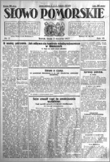Słowo Pomorskie 1927.01.05 R.7 nr 3