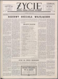 Życie : katolicki tygodnik religijno-kulturalny 1954, R. 8 nr 19 (359)