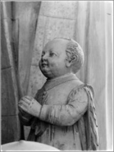 Gdańsk Oliwa [Katedra pw. Trójcy Świętej, Najświętszej Maryi Panny i św. Bernarda – fragment nagrobka rodziny Kosów]