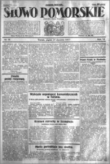 Słowo Pomorskie 1927.01.21 R.7 nr 16