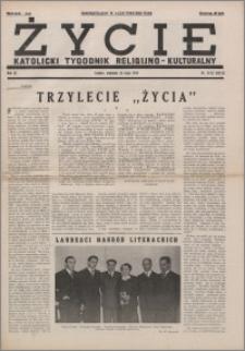 Życie : katolicki tygodnik religijno-kulturalny 1950, R. 4 nr 21-22 (152-153)