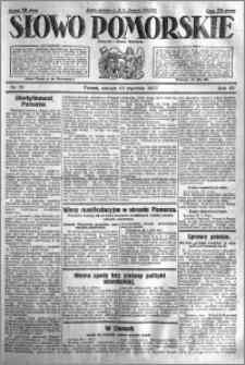 Słowo Pomorskie 1927.01.25 R.7 nr 19