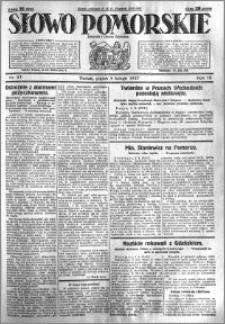 Słowo Pomorskie 1927.02.04 R.7 nr 27