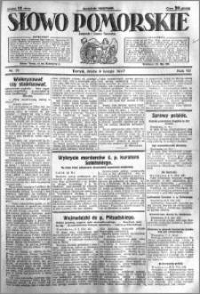 Słowo Pomorskie 1927.02.09 R.7 nr 31