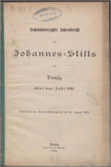 Jahresbericht des Johannes-Stifts zu Danzig über das Jahr 1898, 46