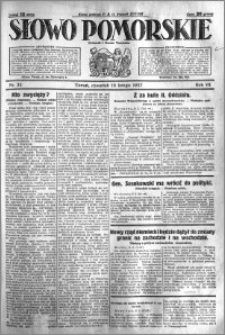 Słowo Pomorskie 1927.02.10 R.7 nr 32