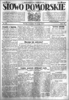Słowo Pomorskie 1927.02.13 R.7 nr 35
