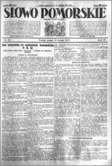 Słowo Pomorskie 1927.02.18 R.7 nr 39