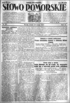 Słowo Pomorskie 1927.02.26 R.7 nr 46