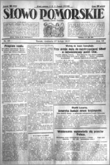 Słowo Pomorskie 1927.02.27 R.7 nr 47