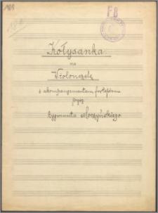 Kołysanka na wiolonczelę z akompaniamentem fortepianowym