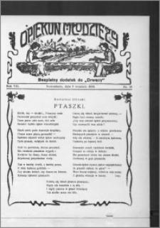 Opiekun Młodzieży 1930, R. 7, nr 18