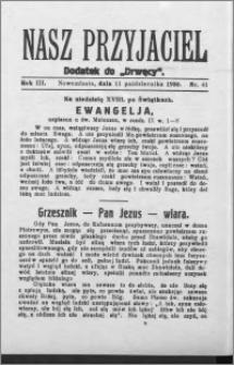Nasz Przyjaciel 1930, R. 7, nr 41