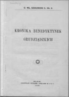 Kronika benedyktynek grudziądzkich