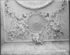 Vyškov k. Ołomuńca (Czechy, Morawy). Wnętrze kaplicy św. Otylii przy kościele farnym. Sztukateria autorstwa Baltazara Fontany