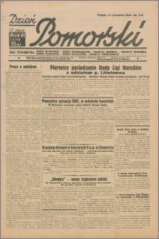 Dzień Pomorski 1934.09.20, R. 6 nr 213