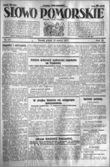 Słowo Pomorskie 1927.03.18 R.7 nr 63